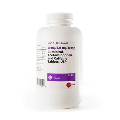 Butalbitalapapcaffeine Tablets