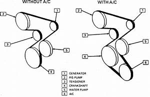 I Am Needing The Serpentine Belt Routing Diagram For A