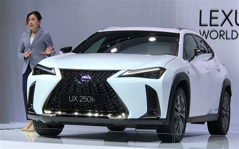 lexus ux  brands  entry level suv  coming