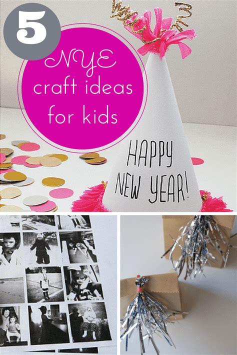 fantastic  years eve craft ideas  kids