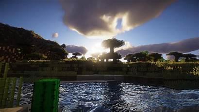 Minecraft Shaders Desktop Background Wallpapers Backgrounds 4k