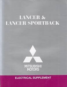 2012 Mitsubishi Lancer  U0026 Lancer Sportback Wiring Diagram