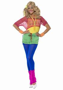 Women's 80s Let's Get Physical Costume