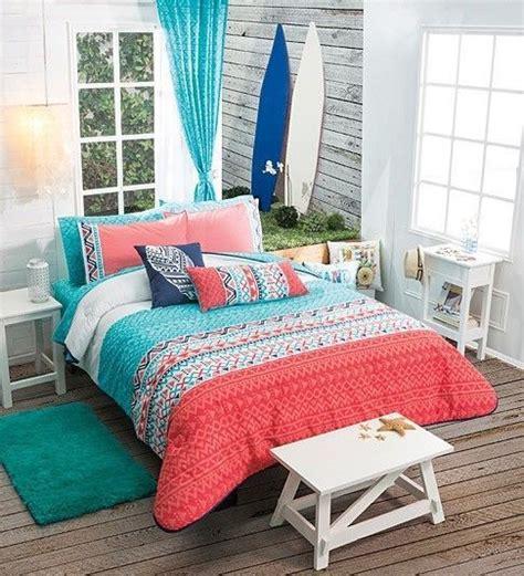 coral bedspread ideas  pinterest bedding