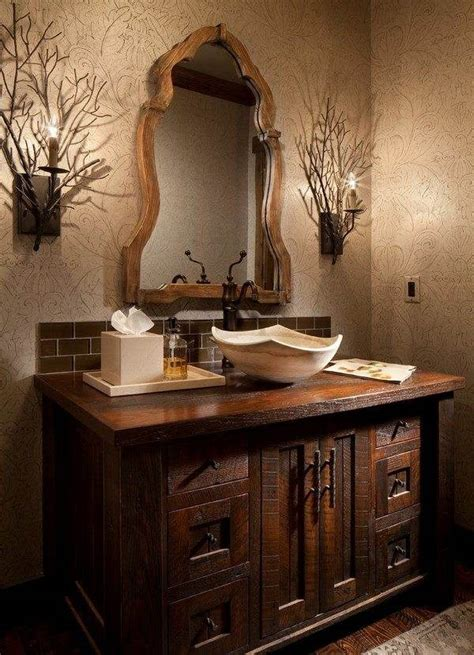 Rustic Bathroom Cabinet by Rustic Bathroom Vanity Cabinets And Accessories Ideas