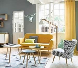 les 25 meilleures idees de la categorie tapis de fourrure With tapis jaune avec alinea canape scandinave