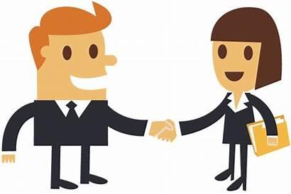 Shaking Business Hands Clipart Cartoon Businessman Boss