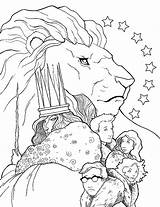 Narnia Chronicles Coloring Pages Aslan Wardrobe Lion Witch Colouring Getcolorings Printable Trailers Na sketch template