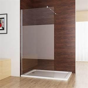 Dusche In Dusche : walk in dusche duschabtrennung duschwand 10mm nano teilsatin glas 80 x 200cm cc miqu ~ Sanjose-hotels-ca.com Haus und Dekorationen
