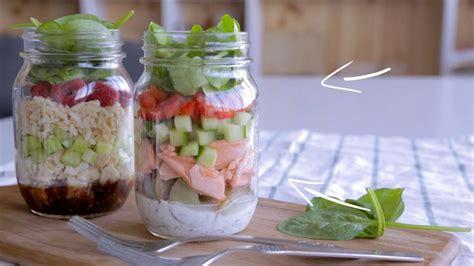 cuisine en pot j salade en pot au saumon cuisine fut 233 e parents press 233 s zone vid 233 o t 233 l 233 qu 233 bec