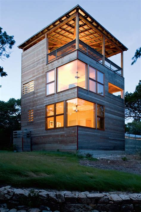 tower house leander texas residential architect
