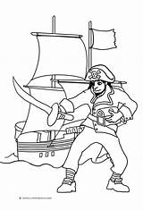 Pirate Coloring Ship Pages Sword Pirates Drawing Ships Getdrawings Sheet Pittsburgh Simple Flag Clipartqueen sketch template