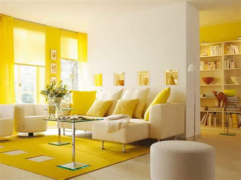 Living Room Yellow Accent Wall Grey And Beige Colour