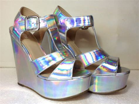 High Heels, Platform Shoes, Platform Shoes, Silver