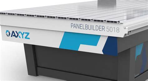 cnc router  acm fabricated panels panelbuilder  axyz