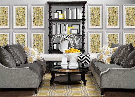 lemon and grey living room live in lemon and grey lemon grey pinterest lemon and gray