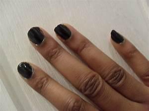 Black nail polish with dark skin the student room