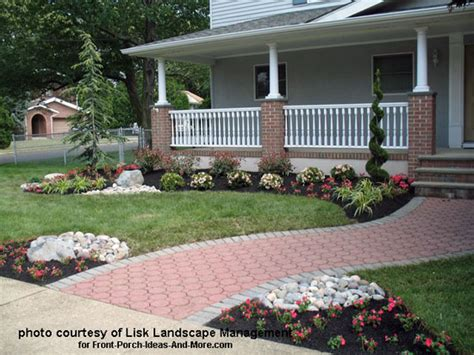 landscaping ideas for front porch area front yard landscape designs with before and after pictures