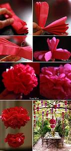 Papierblumen Aus Servietten : die 25 besten ideen zu papierblumen auf pinterest servietten dekorationen seidenpapier ~ Yasmunasinghe.com Haus und Dekorationen