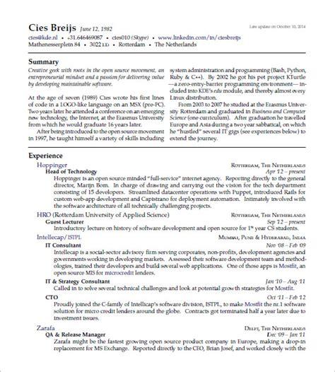 latex cv template cyberuse