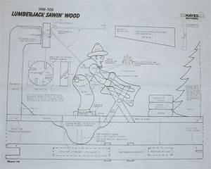 Lumberjack Sawin' Wood Garden/Yard Pinterest Woods