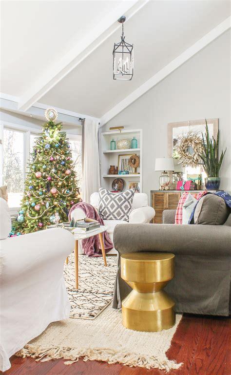 boho chic christmas home   part  modern