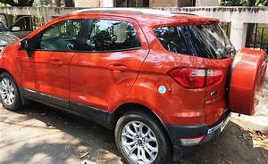 Used Ford Ecosport 1 5l Tivct Petrol Titanium At Black Edition In Chennai 2015 Model  India At