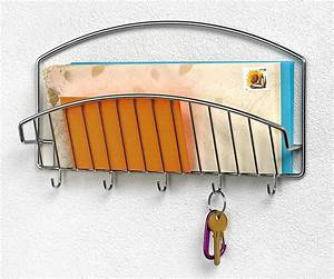 wall mounted letter holder with hooks in mail organizers With wall mounted letter holder with hooks