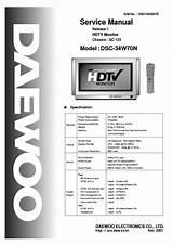 Daewoo 14c3 14c4 T 14c5t Television Cricuit Diagram Manual