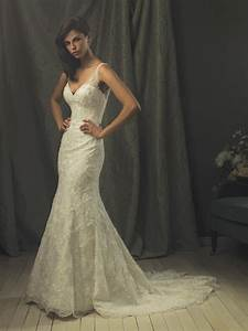 hot lace mermaid vintage wedding dresses prlog With vintage lace mermaid wedding dress