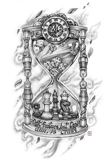 Bildergebnis für broken hourglass tattoo   Sanduhr