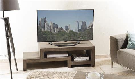 meuble rangement bureau design meuble de tv moderne en bois massif design en escalier