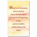 Glory Be to the Father: Prayer Card