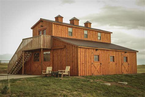 Modular Barn Near Cheyenne Wyoming