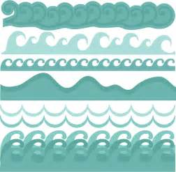 Ocean Waves Borders Clip Art
