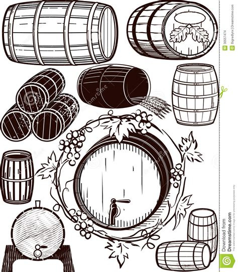 Barrel Collection Stock Images - Image: 30557474