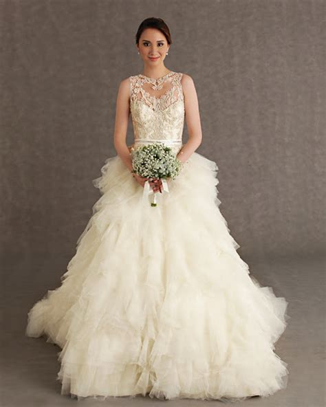 Veluz Reyes 2013 Bridal Collection Wedding Philippines
