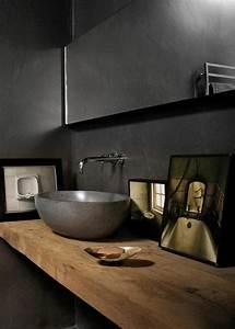 La Beaut De La Salle De Bain Noire En 44 Images