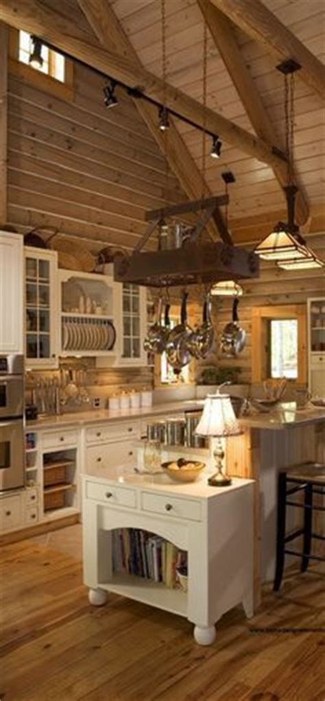 interior designing for kitchen 1000 ideas about log cabin interiors on cabin 4788