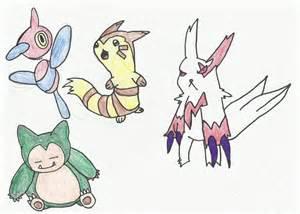 Normal type Pokemon