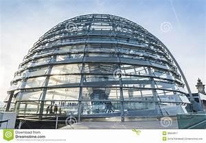 Reichstag Glass Dome - German Bundestag Editorial ...