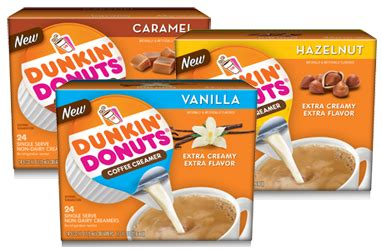 Check out the recipe below for all the details! $1.00 off Any Dunkin' Donuts Coffee Creamer Singles Coupon - Hunt4Freebies