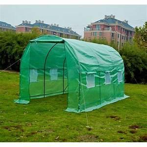 Construire Une Serre Pas Cher : serre de jardin tunnel b che pe tube en acier 4 achat ~ Premium-room.com Idées de Décoration