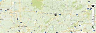 Mapquest Map of Pennsylvania and Driving directions - Live ...