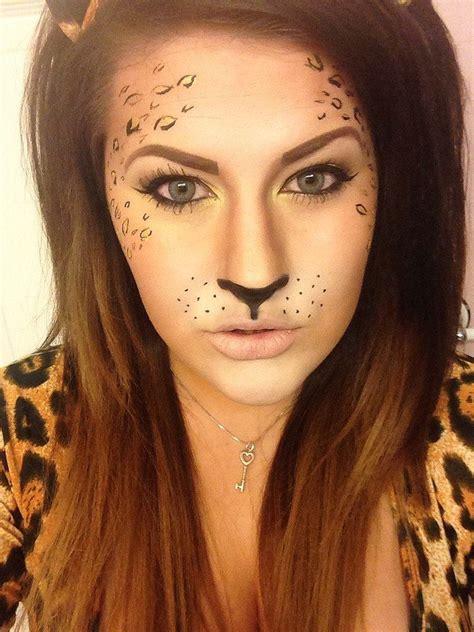 leopard make up leopard makeup cat