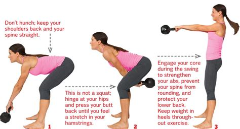 Kettle Swing Exercise by Kettlebell The Whole Way