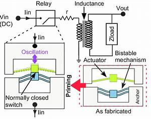 Circuit Of High Voltage Generator And Schematic Of Oscillating Relay