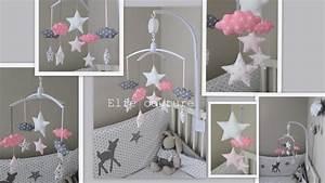 Deco Chambre Bebe Fille Gris Rose : d co chambre b b fille rose et gris ~ Teatrodelosmanantiales.com Idées de Décoration