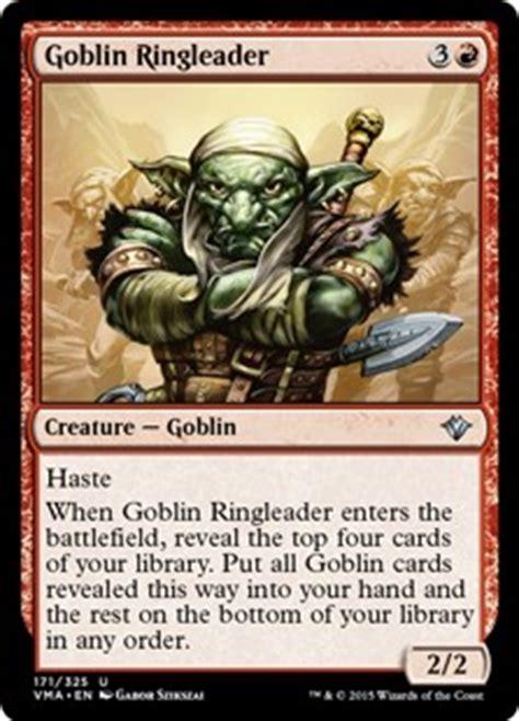 card search search goblin gatherer magic the
