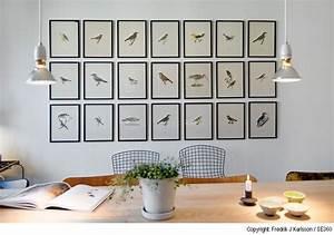 Wandgestaltung Mit Fotos : wandgestaltung esszimmer bilder statt farbe ahoipopoi blog ~ Frokenaadalensverden.com Haus und Dekorationen